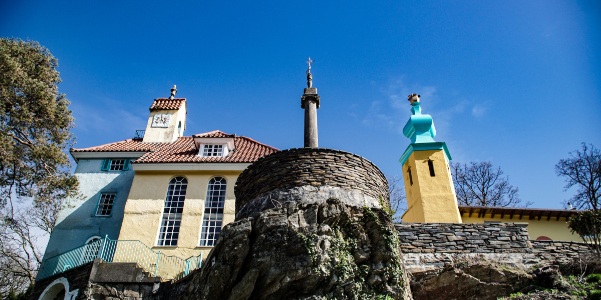 Image of Portmeirion architecture in North Wales