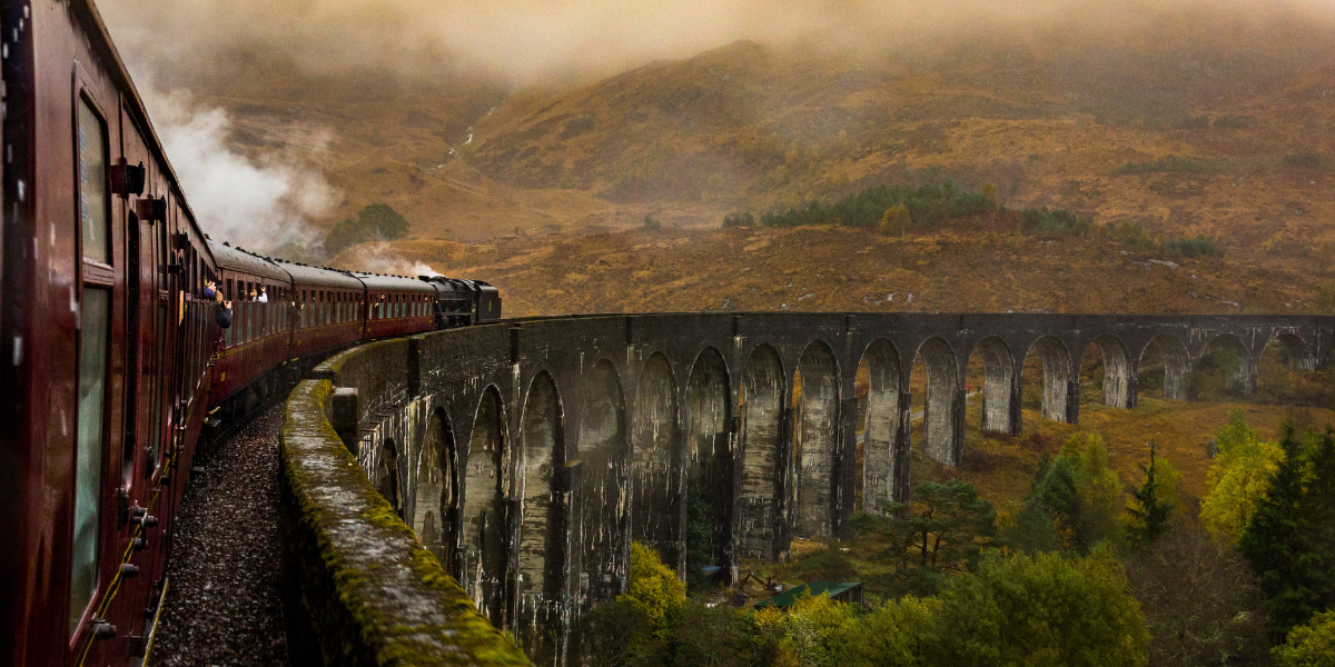 Steam train trip experience in North Wales