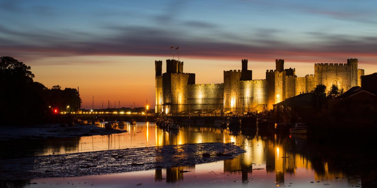 Image of Caernarfon castle