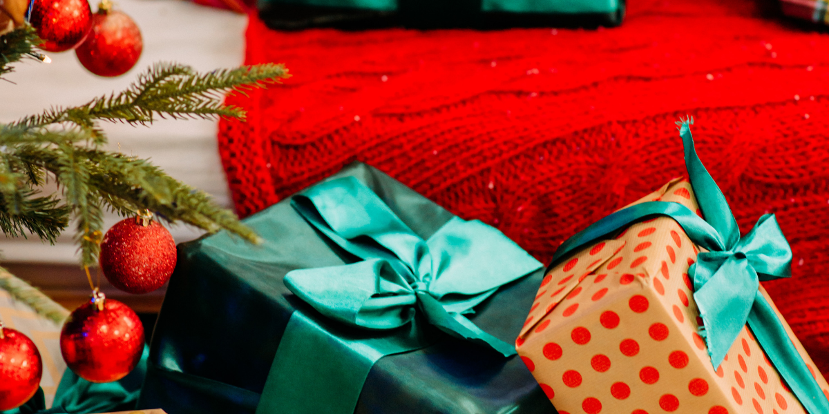 Image of Christmas present boxes