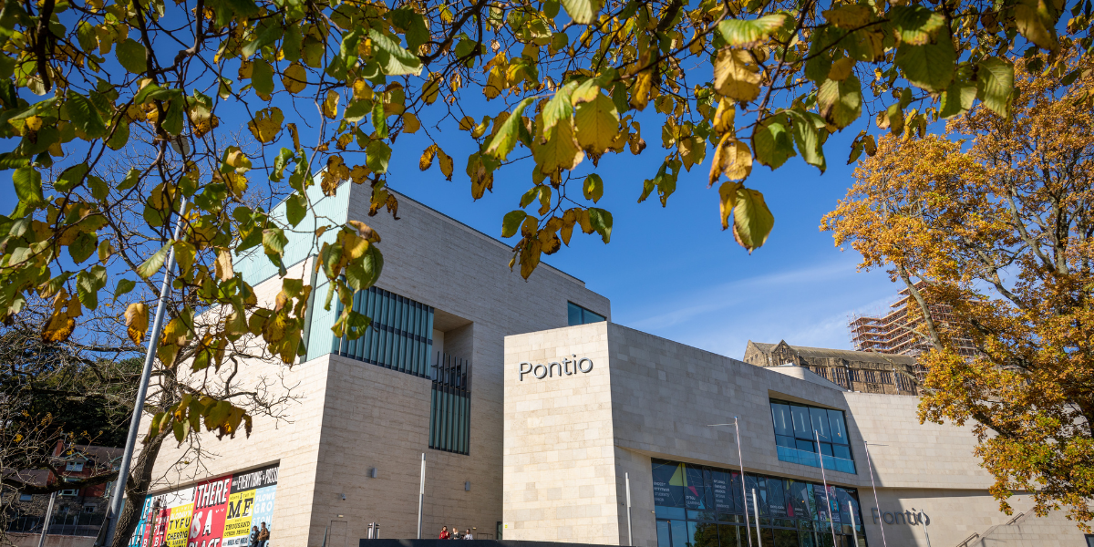 Image of Pontio in North Wales