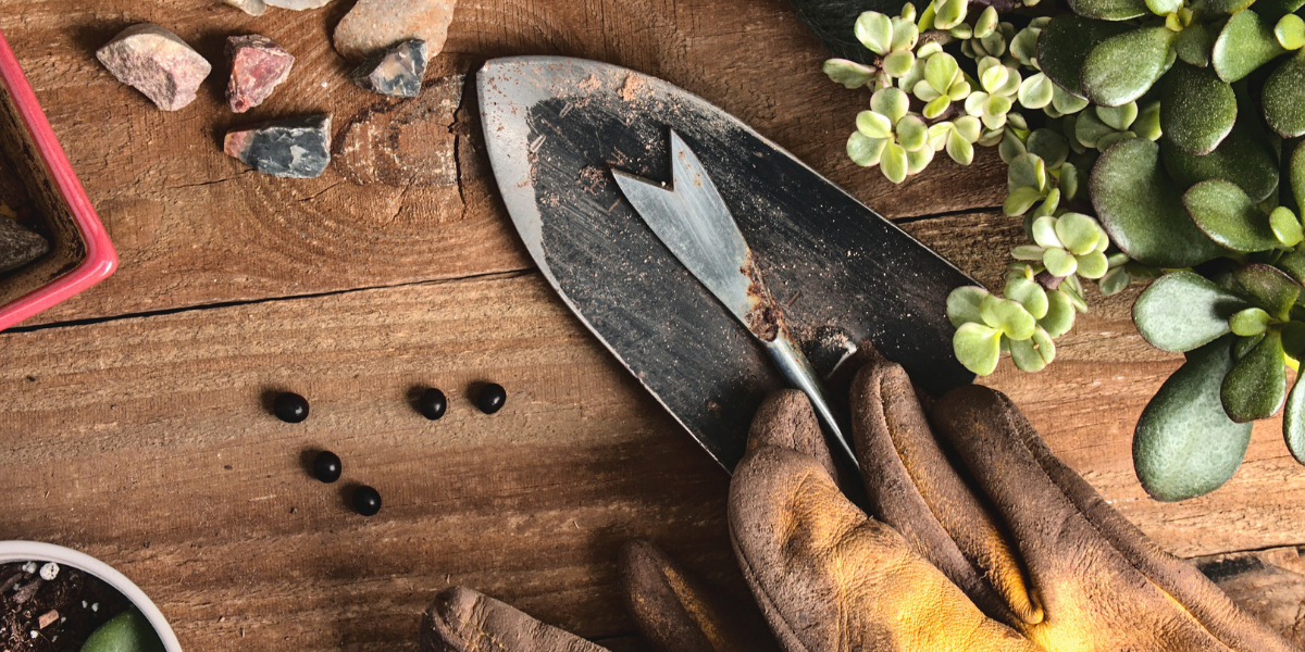 Image of gardening materials